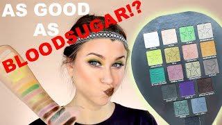 JEFFREE STAR ALIEN PALETTE REVIEW AND LOOK! | As Good As BLOODSUGAR!? | Beauty Banter