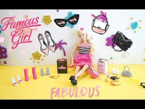Malibu Barbie Fashion Doll with Glam Accessories