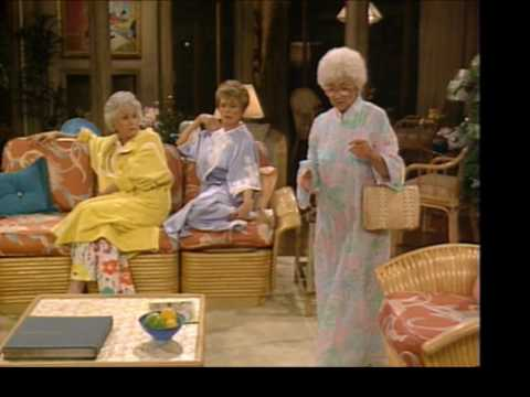 The Golden Girls: I am abhorred! (Season 2; Episode 15: Before and After)