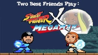 Two Best Friends Play Street Fighter X Megaman