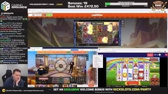 Casino Slots Live - 20/02/20 *QUADS + Monopoly Live (Meh)*