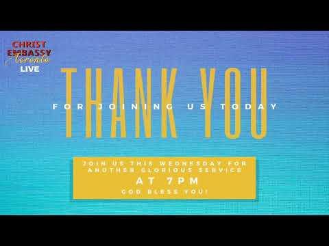 Christ Embassy Toronto Canada Live Stream, Sunday Service June 21st 2020