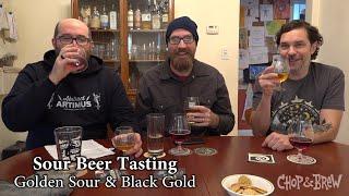 Sour Beer Tasting | Golden Sour & Black Gold