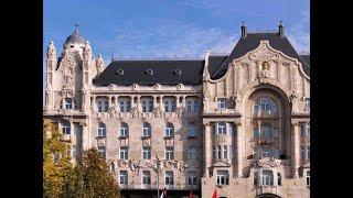 Four Seasons Hotel Gresham Palace Budapest 5 Венгрия Будапешт обзор отеля территория
