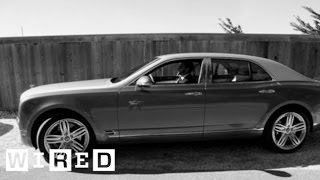 Cruising in The Bentley Mulsanne - Wired Magazine Autopia