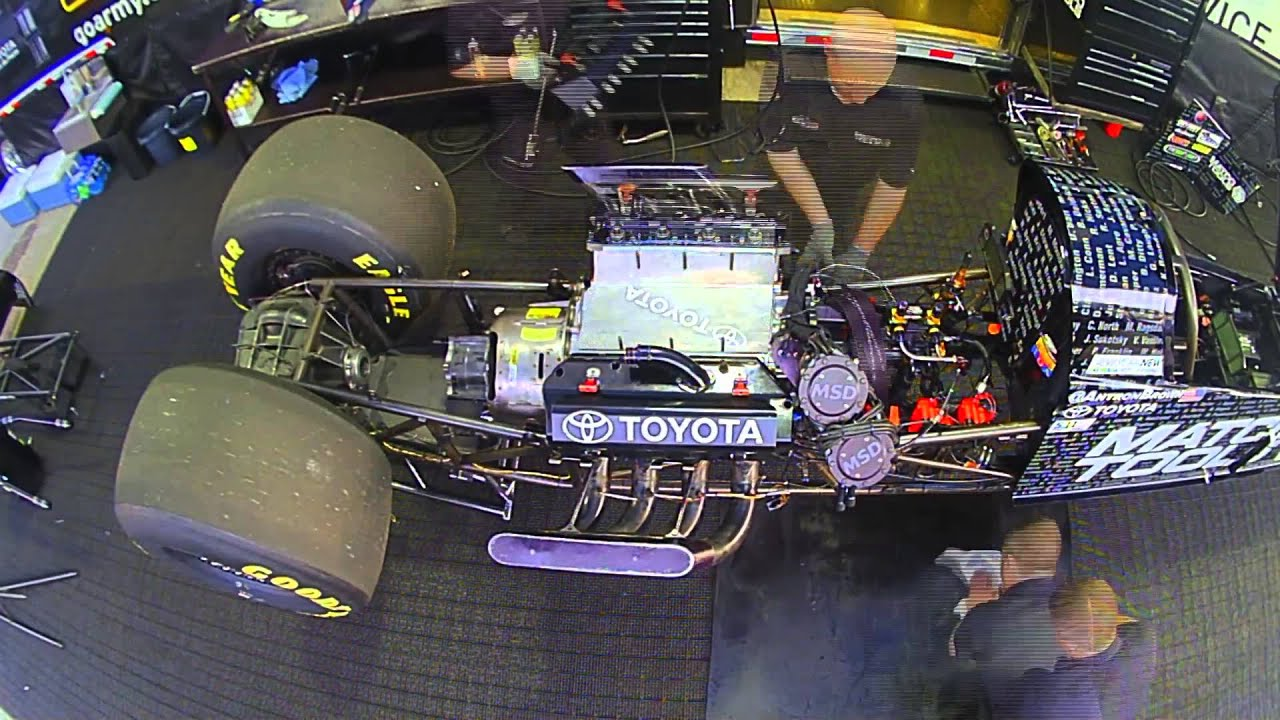 Build A Toyota >> NHRA Top Fuel Dragster Breakdown and Build-Up - YouTube