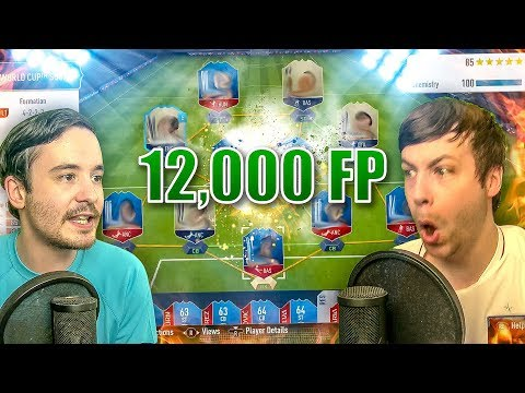 LUCKIEST 12K FP WORLD CUP SQUAD EVER!! - FIFA 18 PACK OPENING thumbnail