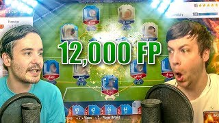LUCKIEST 12K FP WORLD CUP SQUAD EVER!! - FIFA 18 PACK OPENING