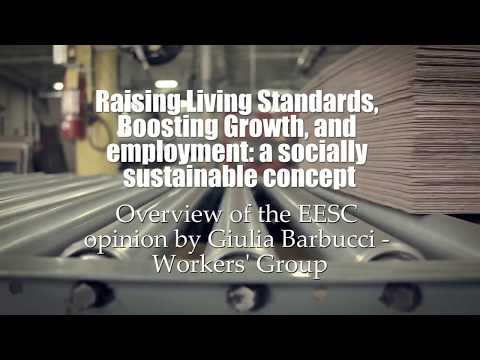 Living standards and Sustainable Growth in the EU