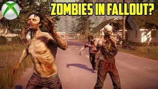 Fallout 4 - ZOMBIES IN FALLOUT? (Xbox One)