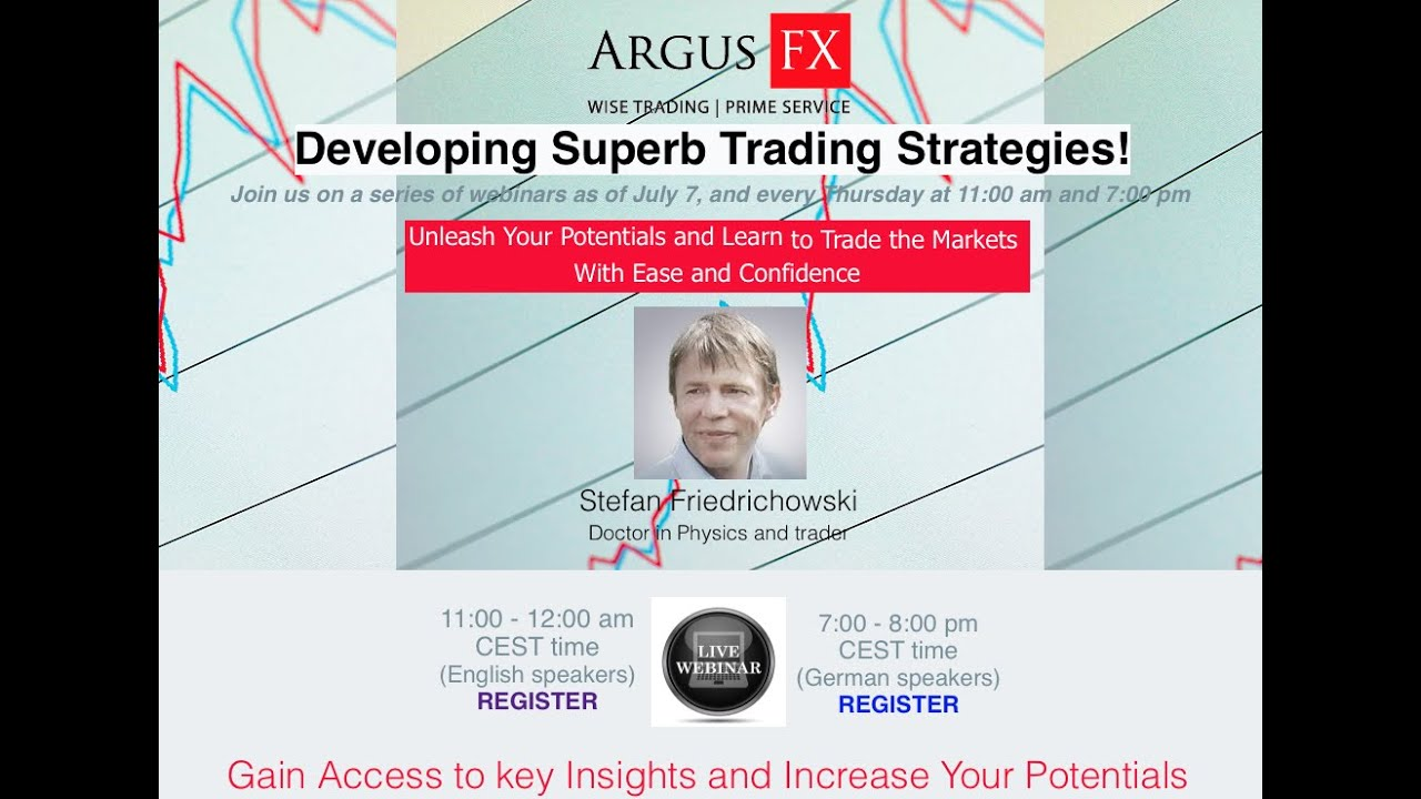 Developing a trading strategy