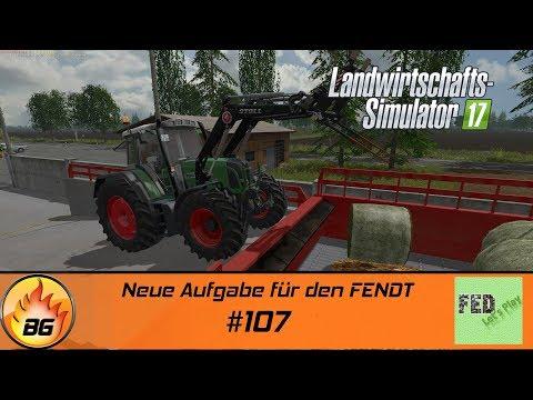 LS17 - NF Marsch #107   Neue Aufgabe für den FENDT   Let's Play [HD]