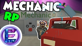 MECHANIC RP - Vehicle repair and maintenance - Unturned Roleplay