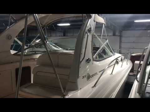 2002 Sea Ray 300 Sundancer for Sale by Great Lakes Boats & Brokerage 440 221 9001
