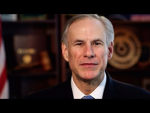 Texas Gov. holds a news conference