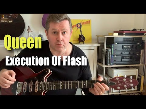Queen Execution Of Flash - Guitar Play Along & Lesson With Chords & Tab - Flash Gordon Soundtrack
