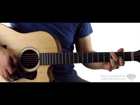 Alone With You Jake Owen Guitar Lesson and Tutorial