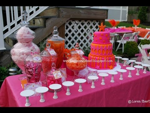 Sweet 16 Decorations~Sweet 16 Decorations Diy - YouTube