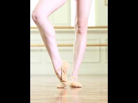 Ballet Shoes Kids Dance Slippers Point Shoes Ballet Exercise Girls Soft Ballet Flats #shorts