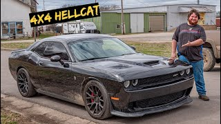We Start Work on the 4x4 Off-Road Hellcat