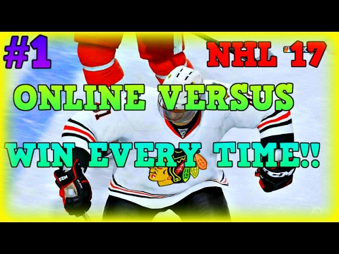 NHL 17 How To Win Online Versus Every Time #1 (Tips and Tricks)
