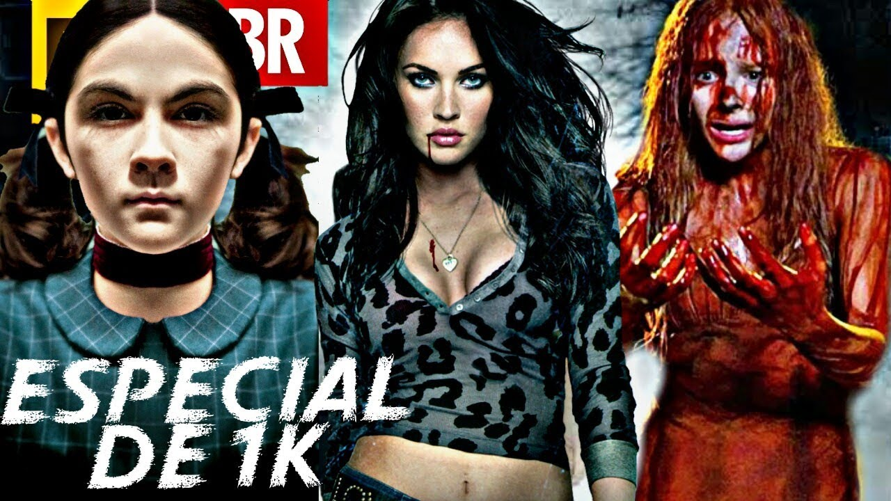 Especial 1K: Rap Terror - Carrie a Estranha, A Órfã, Garota Infernal