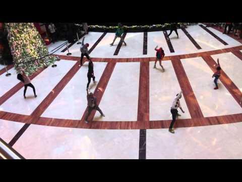 17 April 2011 Flash Mob at Pacific Place Mall Jakarta Atrium
