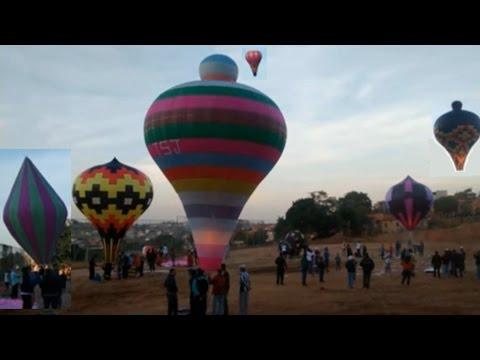 Revoada de Balão - mais de 30 balões - Filmagem Costa e Silva