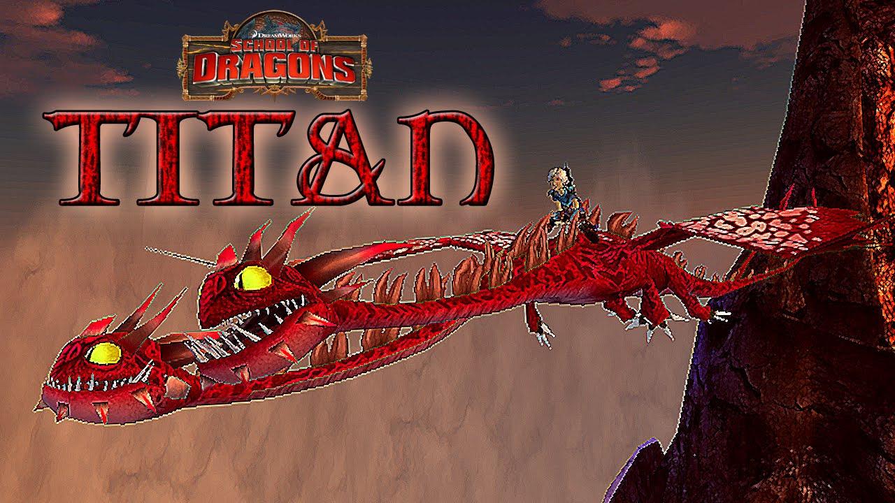 TITAN Hideous Zippleback - School of Dragons - YouTube