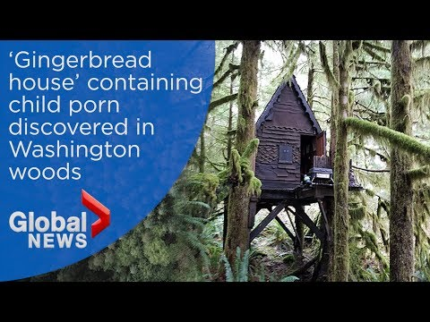 Washington park ranger discovers hidden 'Gingerbread house' containing child porn thumbnail