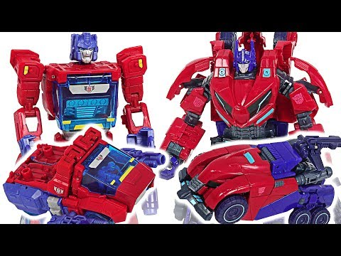 Transformers Optimus Prime and Orion Pax! Go! #DuDuPopTOY