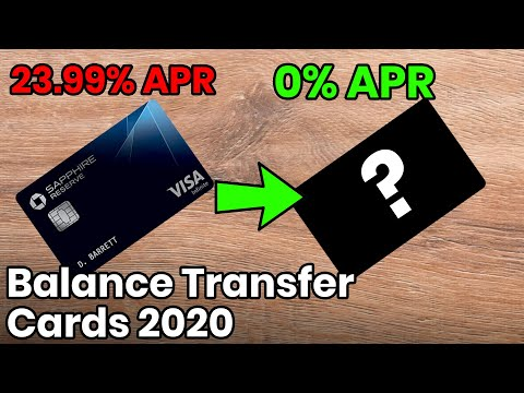 Get Out of Credit Card Debt Paying $0 Interest, Balance Transfer Cards 2020