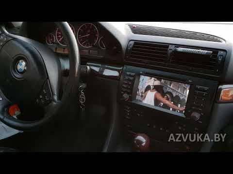 Android-магнитола для BMW E38