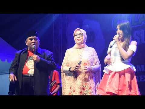 Sewu Kutho - Via Vallen Feat Bapak & Ibu Bupati Sukoharjo (alun - Alun Sukoharjo)