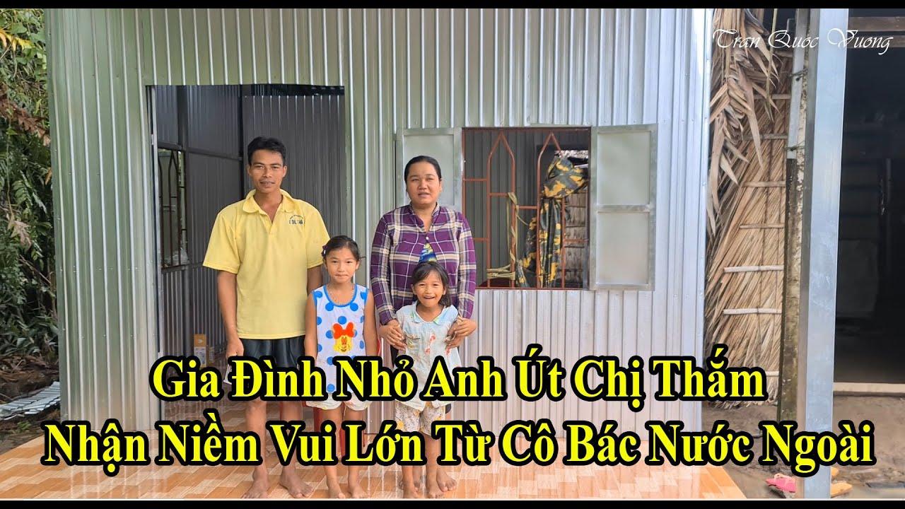 Nhà Cây Vách Lá Đổ Nát Nay Đã Thay Thế Bằng Ngôi Nhà Mới Rất Khang Trang | Trần Quốc Vương 19/9/2020