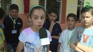 قناة الجزائرية ترافق ممتحني شهادة التعليم الابتدائي-  اعداد شهيرة سلام