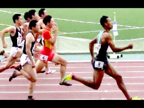 サニブラウン10.06秒! 100m【日...