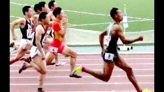 サニブラウン10.06秒! 100m【日本陸上競技選手権大会2017】世界陸上ロンドン大会日本代表選考会Abdul Hakim Sani Brown