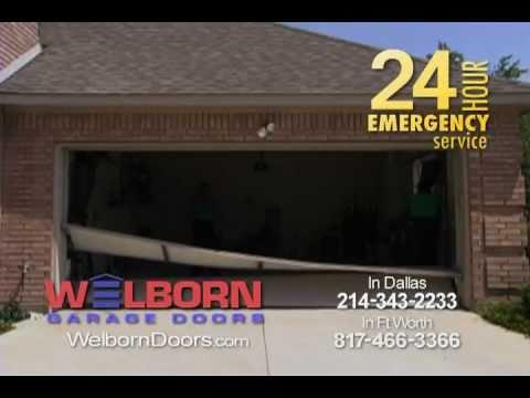 Welborn garage door funny commercial youtube for Omni garage door
