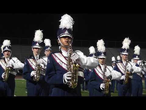 PYLUSD Band Pageant, Yorba Linda High School Band & Color Guard, on 11/07/2018