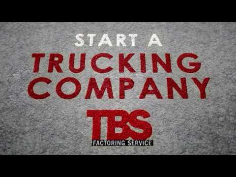 TBS Factoring Service Start a Trucking Company Social Media Animation