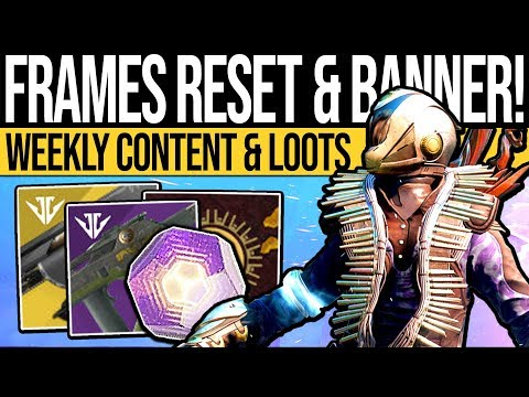 Destiny 2 | WEAPON FRAMES & BANNER LOOT! Weekly Reset, Nightfall, Rewards & Eververse (15th January) thumbnail