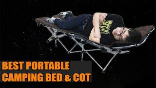 #Top 10 Best Best Portable Camping Bed and Cot Innovations 2019
