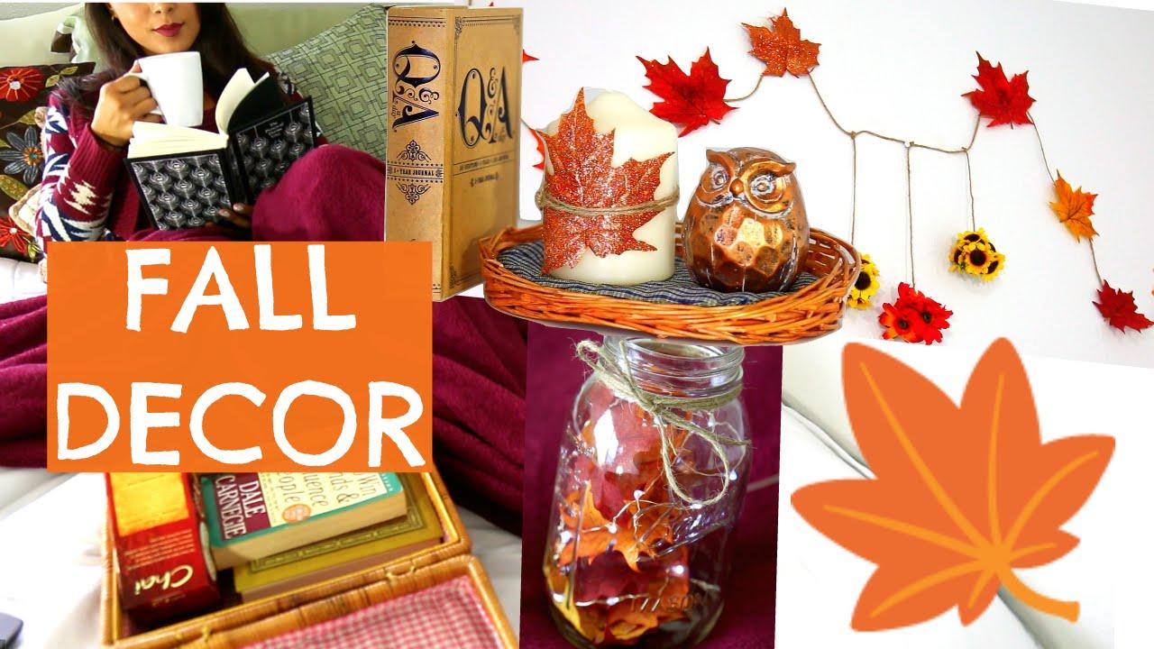 Cute Diy Home Decor Ideas: Make Your Room Cozy For Fall ♡DIY Room Decor: Easy And