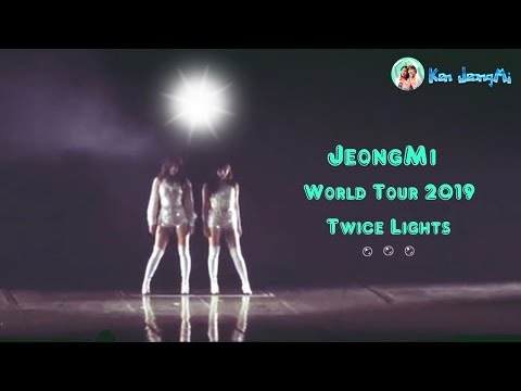 [FMV] Jeongyeon x Mina TWICE (JeongMi couple) - World Tour 2019 TWICE Lights !!!