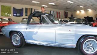 1964 Chevrolet Corvette Roadster for sale Flemings with test drive, walk through video