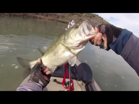 NICK FLY FISHING - LLANO RIVER SABOTAGE - TEXAS - MARCH 2017