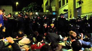 20140324 行政院台灣警察打人 非常暴力