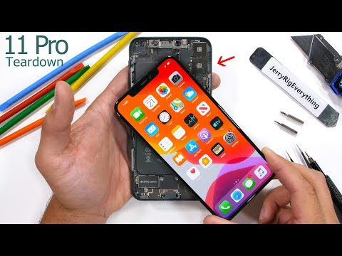 iPhone 11 Pro Max Teardown - Tiny Motherboard & BIG Battery!