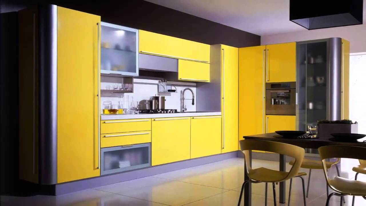 Yellow kitchen ideas - YouTube